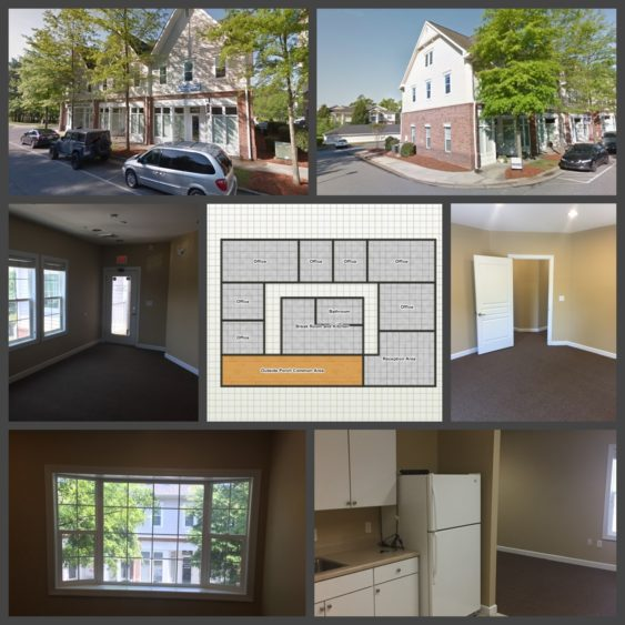 Commercial Real Estate Davidson NC Davidson Gateway Office Space for Rent w/ Kichen Davidson NC